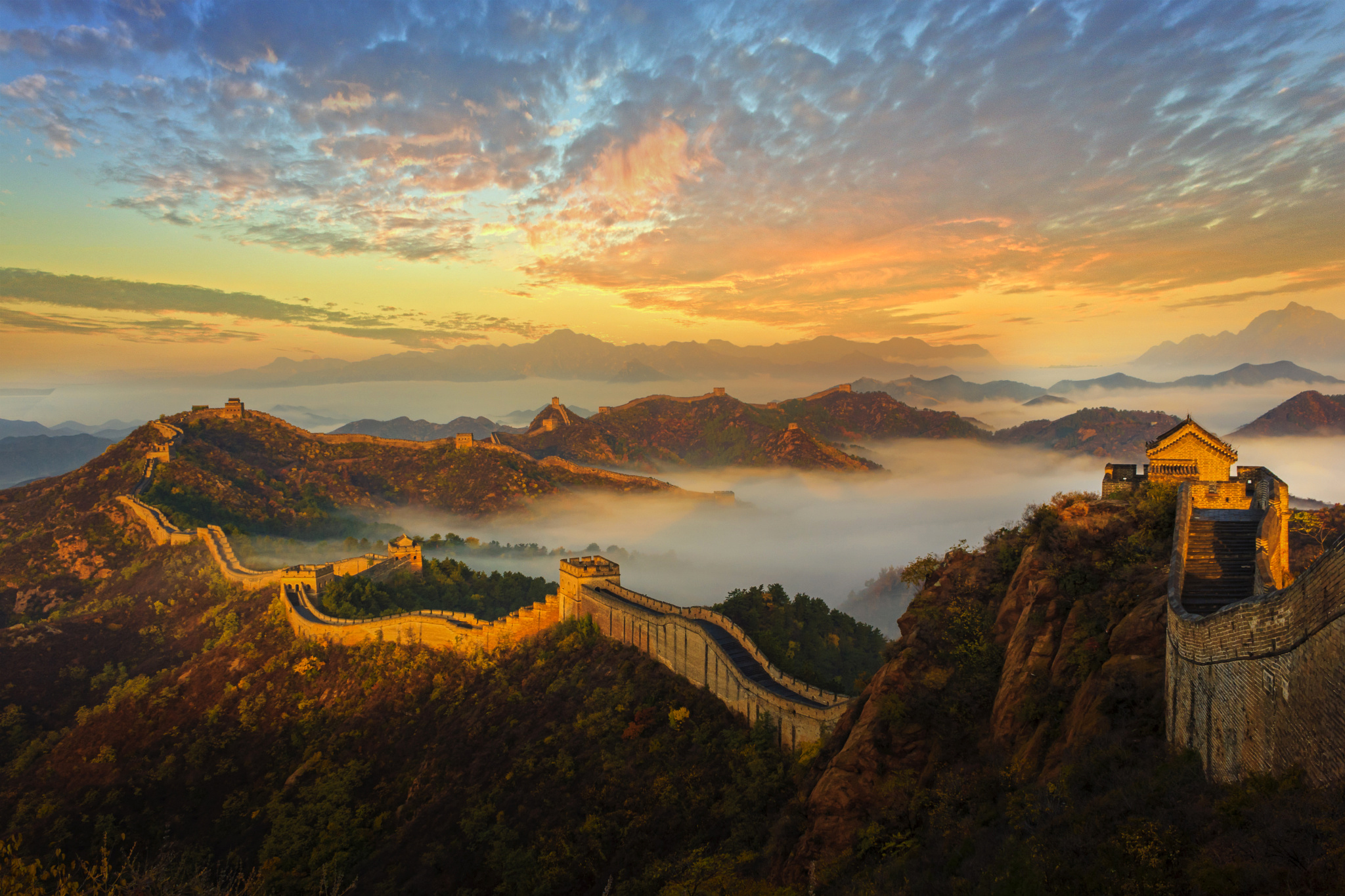 6 of the Best Locations to visit The Great Wall